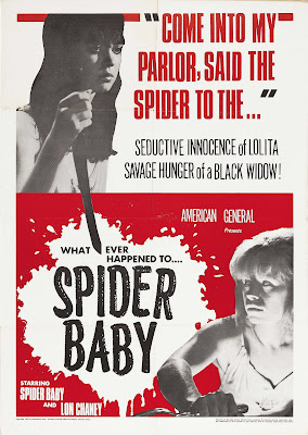 spider baby poster 01 Jack Hill   Spider Baby or, The Maddest Story Ever Told [+Extras] (1964)