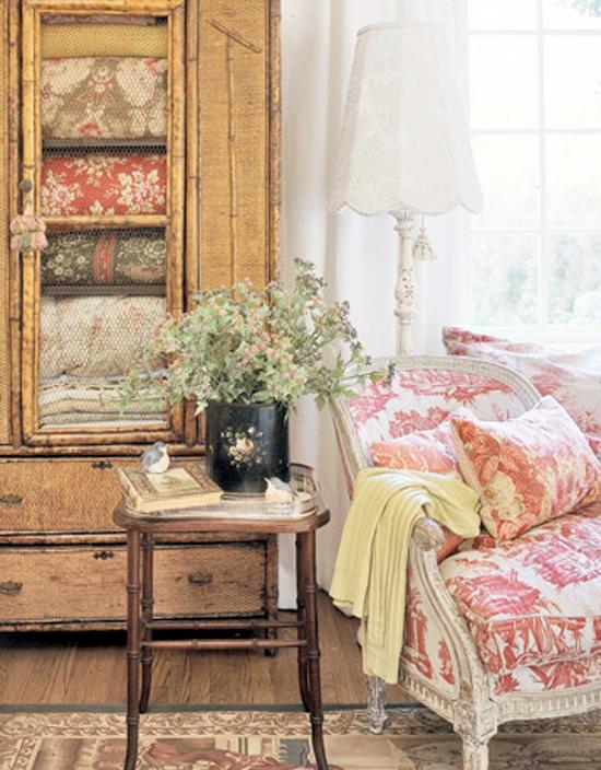 decoracao de interiores estilo handmade:Estilo de Decoração Provençal – O Rústico Romântico