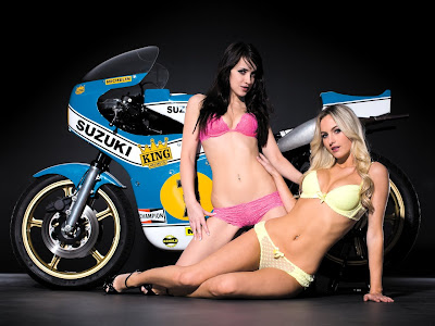 Sexy Girls and Bikes Wallpapers Motorbikes Babes Backgrounds