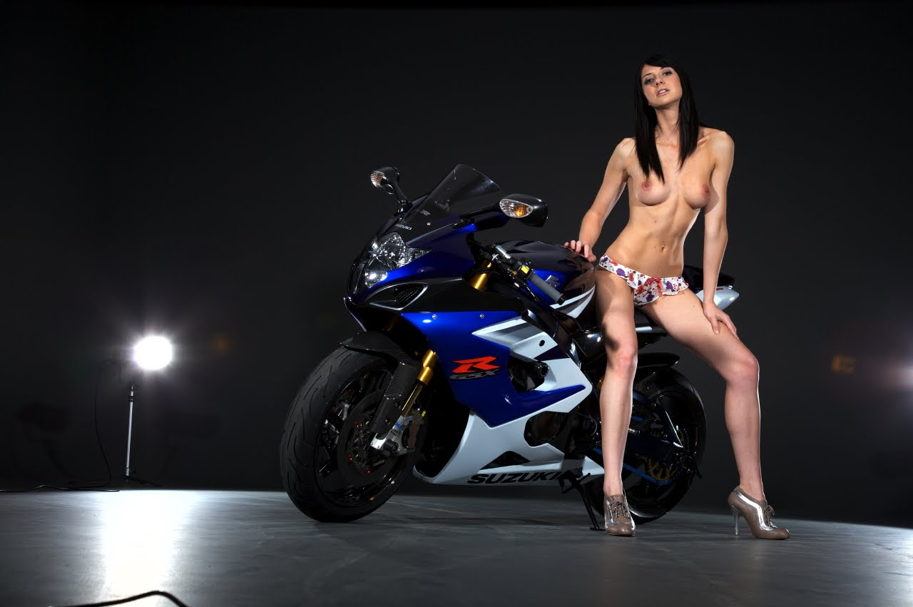 Girls and sport bikes Naked