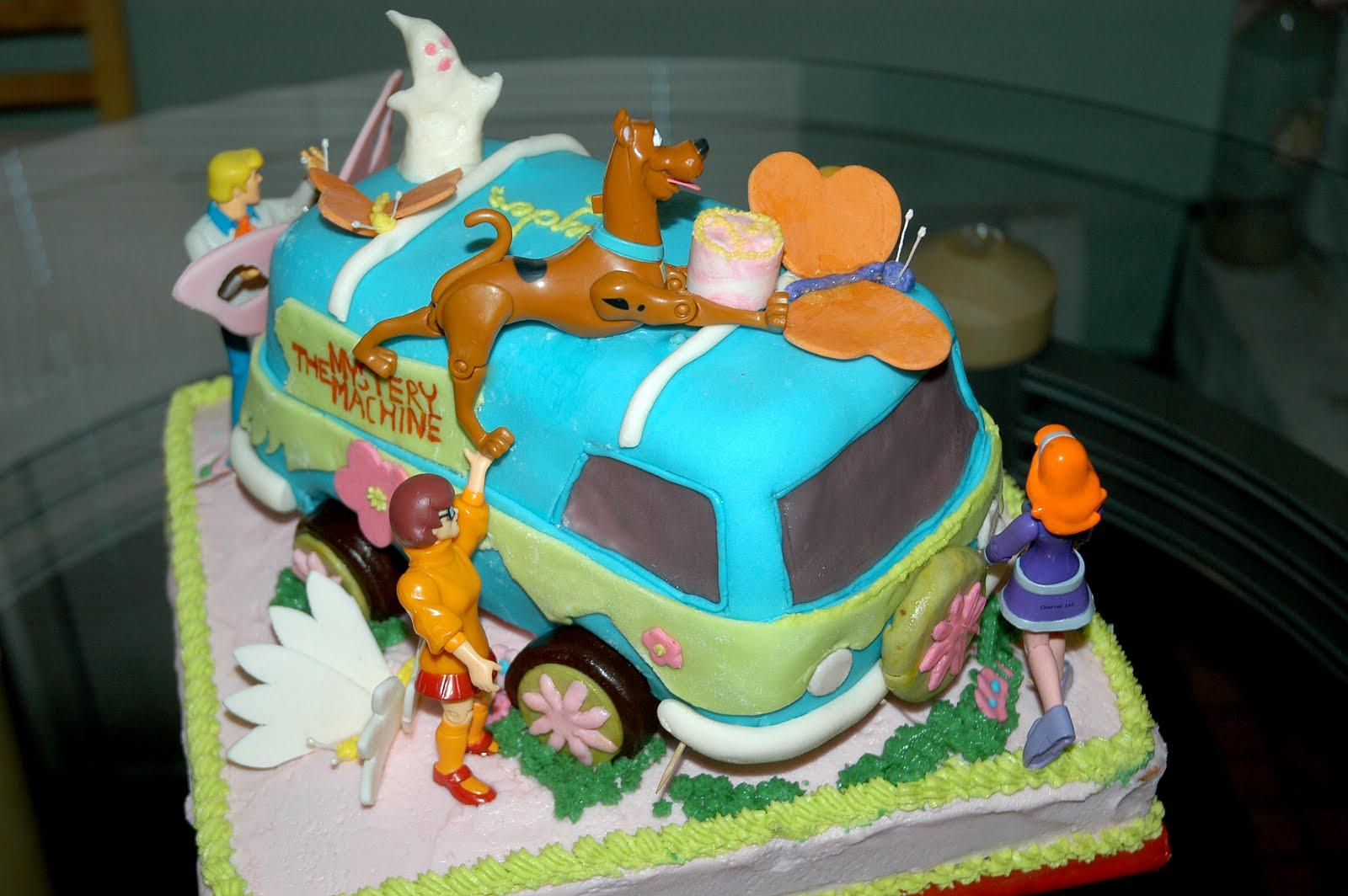 Creative Cakes Scooby Doo Happy Birthday To You