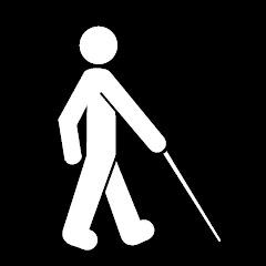 Logo discapacidad visual