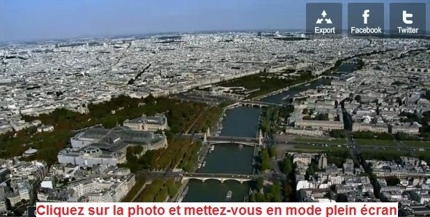 Paris vu du ciel - Yann-Arthus-Bertrand