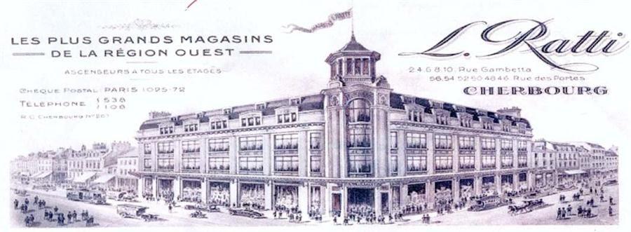 Commerces immarcescibles magasins ratti cherbourg 2 for Architecte cherbourg