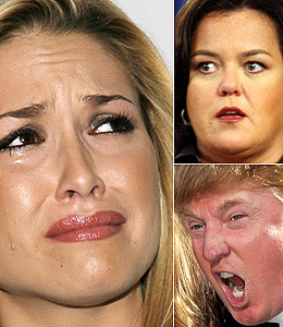 Rosie O'Donnell, Tara Conner, and Donald Trump