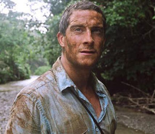 Bear Grylls in the jungle