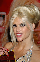 Anna Nicole Smith, the subject of a Sir Elton John musical tribute