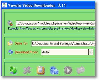 Cantinho do FreeWare: Yuvutu Video Downloader