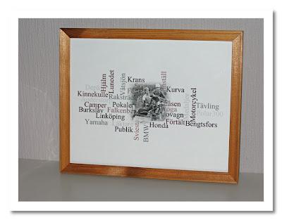 Wordle-tavla, men ramen hade gärna varit en annan... Klicka för större bild (funkar på alla bilder)