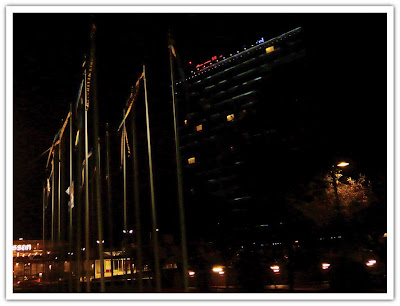 Kvällsbild vid Älvsjömässan