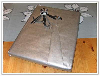 Finfint inslaget paket