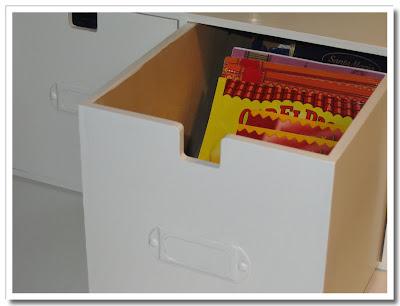 Kryddpåsar i Mackis-låda