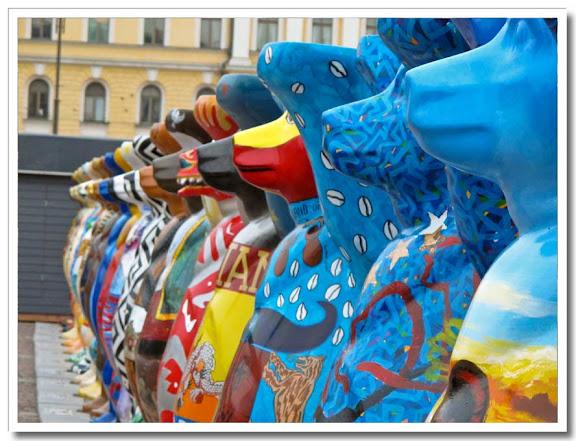 Buddy Bears i Helsingfors