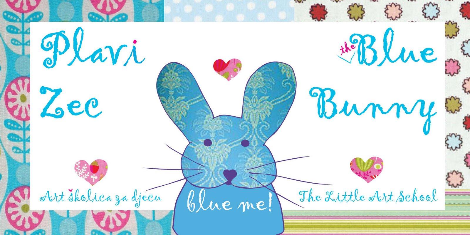 PLAVI ZEC   ***   THE BLUE BUNNY