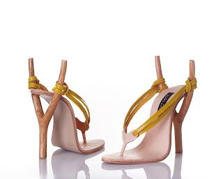 Steinschleuder-Sandale