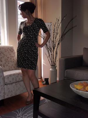 OOTD: Banana Republic Petite Friendly Dress