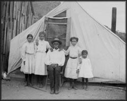 Familia mexicana 1910