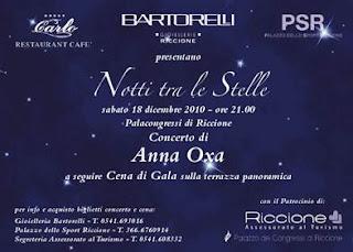 Notte Tra Le Stelle Riccione 2010 Anna Oxa