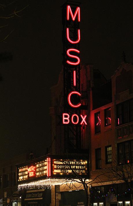 Music Box Theater, Christmas, 2010
