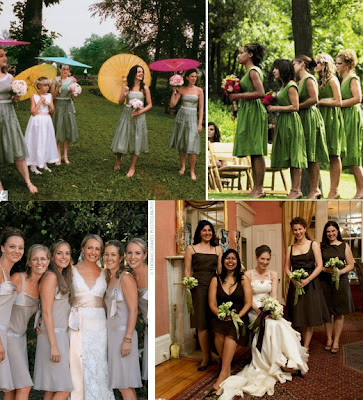 How To Choose The Perfect Bridesmaids Dresses 3