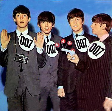 Double O Section The Beatles Vs James Bond Or Blond
