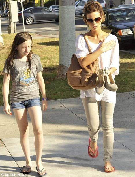 Larsen Pablo: Fancy seeing you here! Kate Beckinsale takes ... Kate Beckinsale Daughter