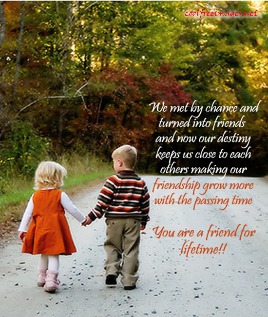 Cute Friendship Quotes . Quotes (About: Friendship, life