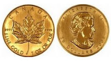 CANADA - GOLD MAPLE LEAF