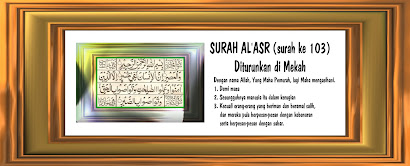 SURAH  AL&#39;ASR -