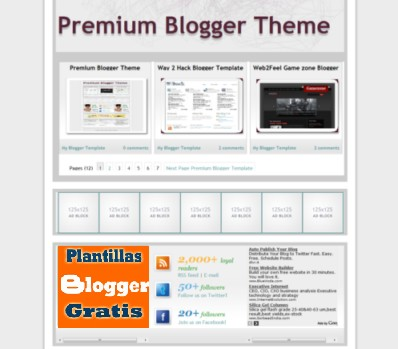 Plantilla Premium Gratis