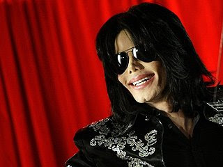 Michael Jackson, who died yesterday at the age of 50 from cardiac arrest, is seen in this photo.