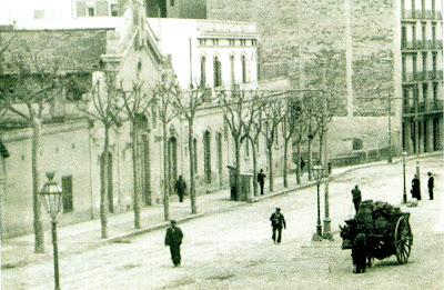 Rails i ferradures la estaci n del ferrocarril urbano de - Calle borrell barcelona ...
