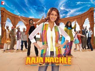 Aaja Nachle movie poster, Madhuri Dixit