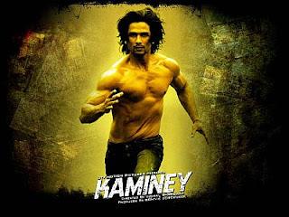 Kaminey movie poster, Shahid Kapoor