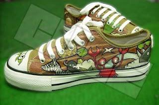 Wild Life - Sepatu Lukis