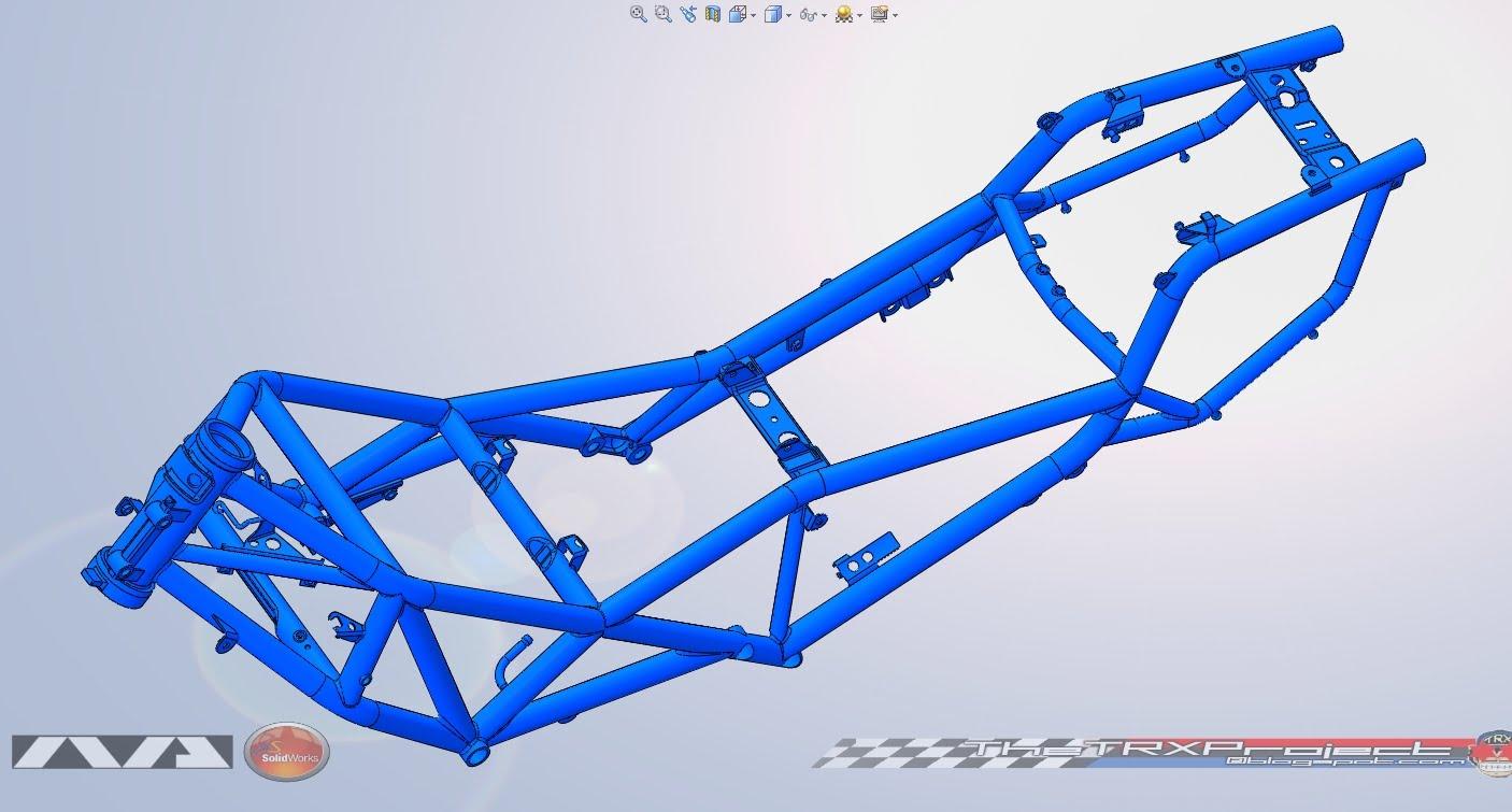 The TRX Project. The Yamaha TRX 850 blog: Finished the Yamaha TRX ...