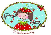 Kleines Erdbeerenmädchen