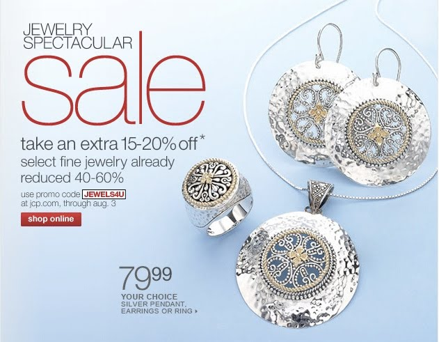 frugal for my friends jewelry sale at jc penny 39 s online