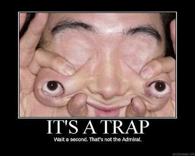 Funny Pictures Face : It S A Trap