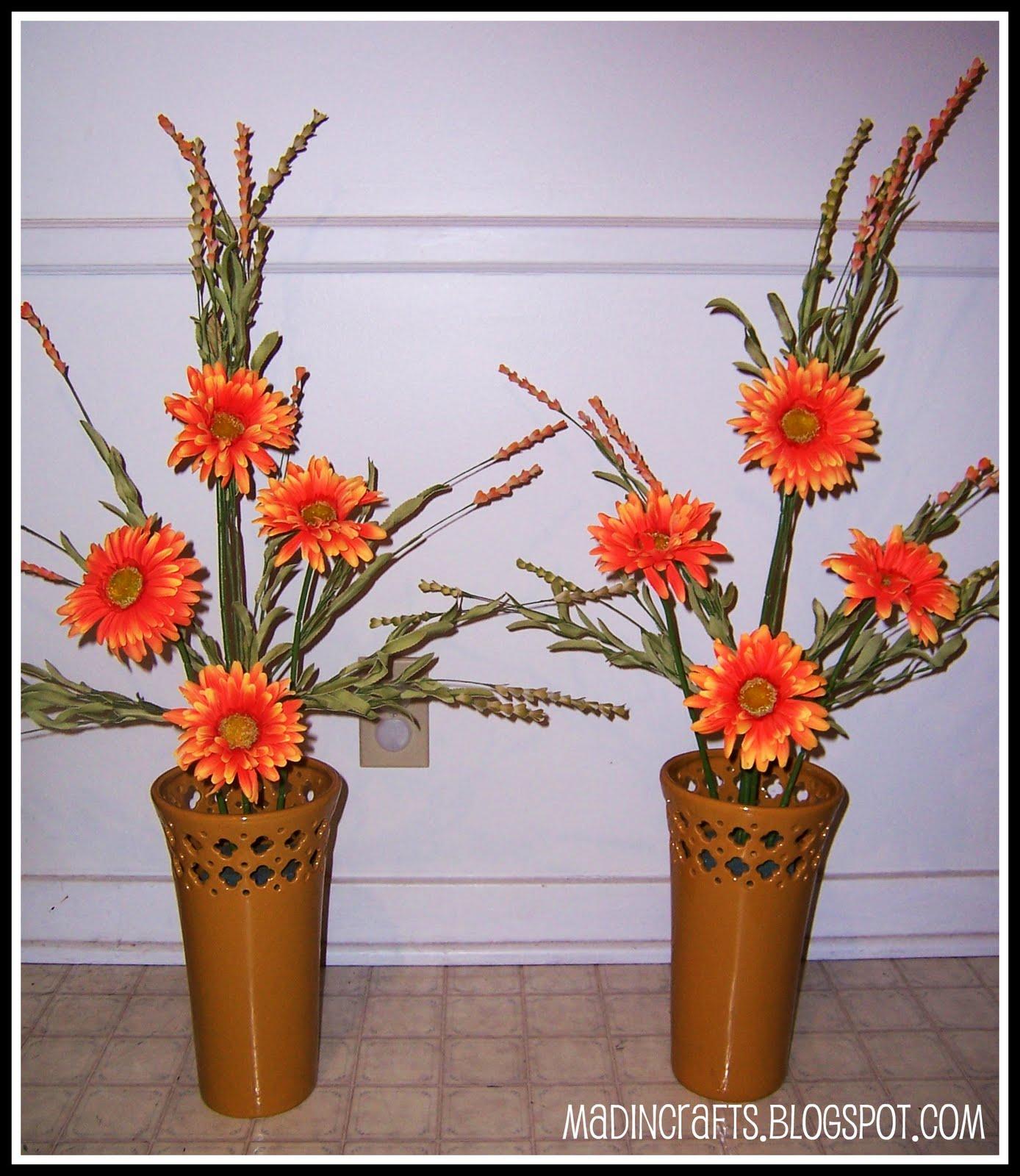 Creating Large Silk Flower Arrangements Mad In Crafts