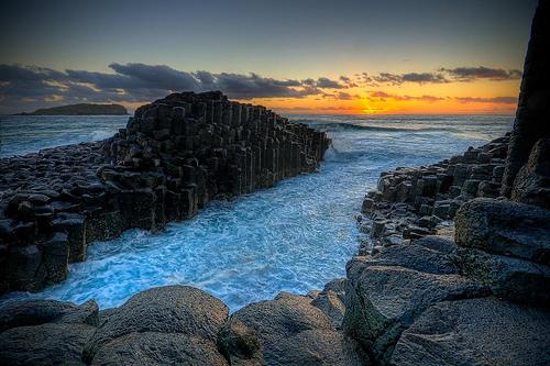 ДОРОГА ГИГАНТОВ,Северная Ирландия