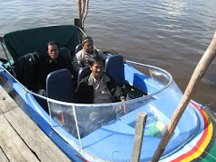 Boat transportation for field visit