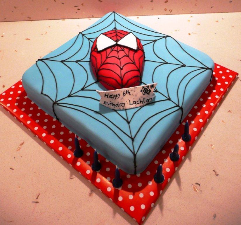 Best Spiderman Cake Spiderman Cake Ideas - Best ...