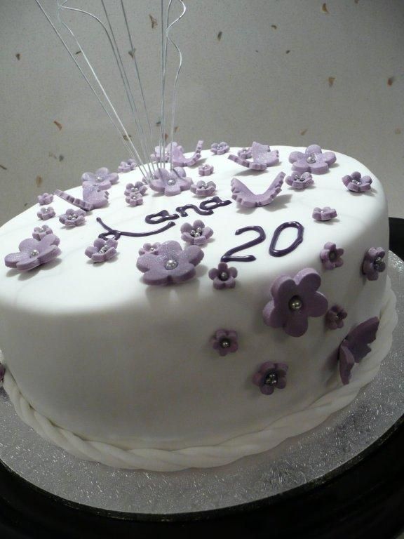 birthday cake 20. I have done a wedding cake in