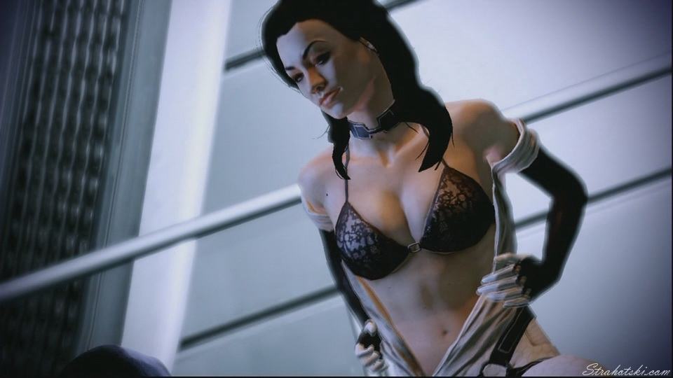 Mass Effect 2 however, gives you Miranda Lawson, played by the equally hot