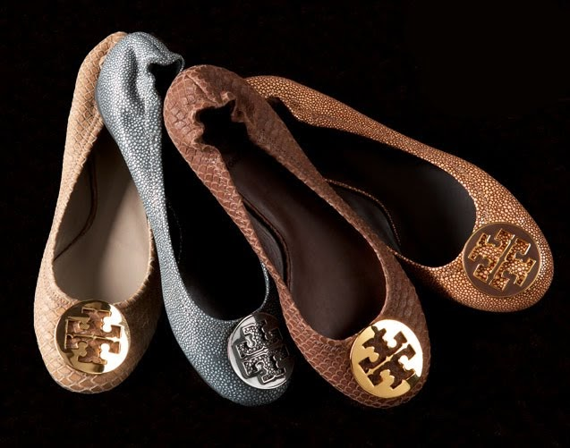 Southern Bourbon Mountains: Tory Burch Ballet Flats ...