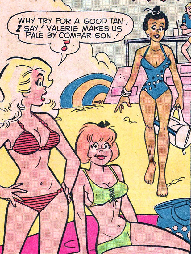 Lana lang, red bikini