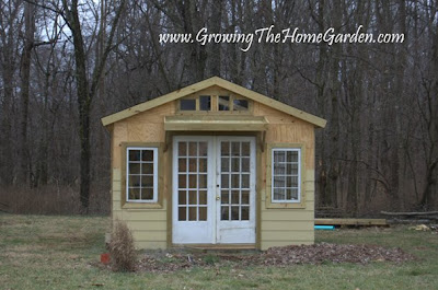 Here\u0027s how I put the green roof overhang together & Greenroof Overhang for the Front Door from The Garden Shed from ...