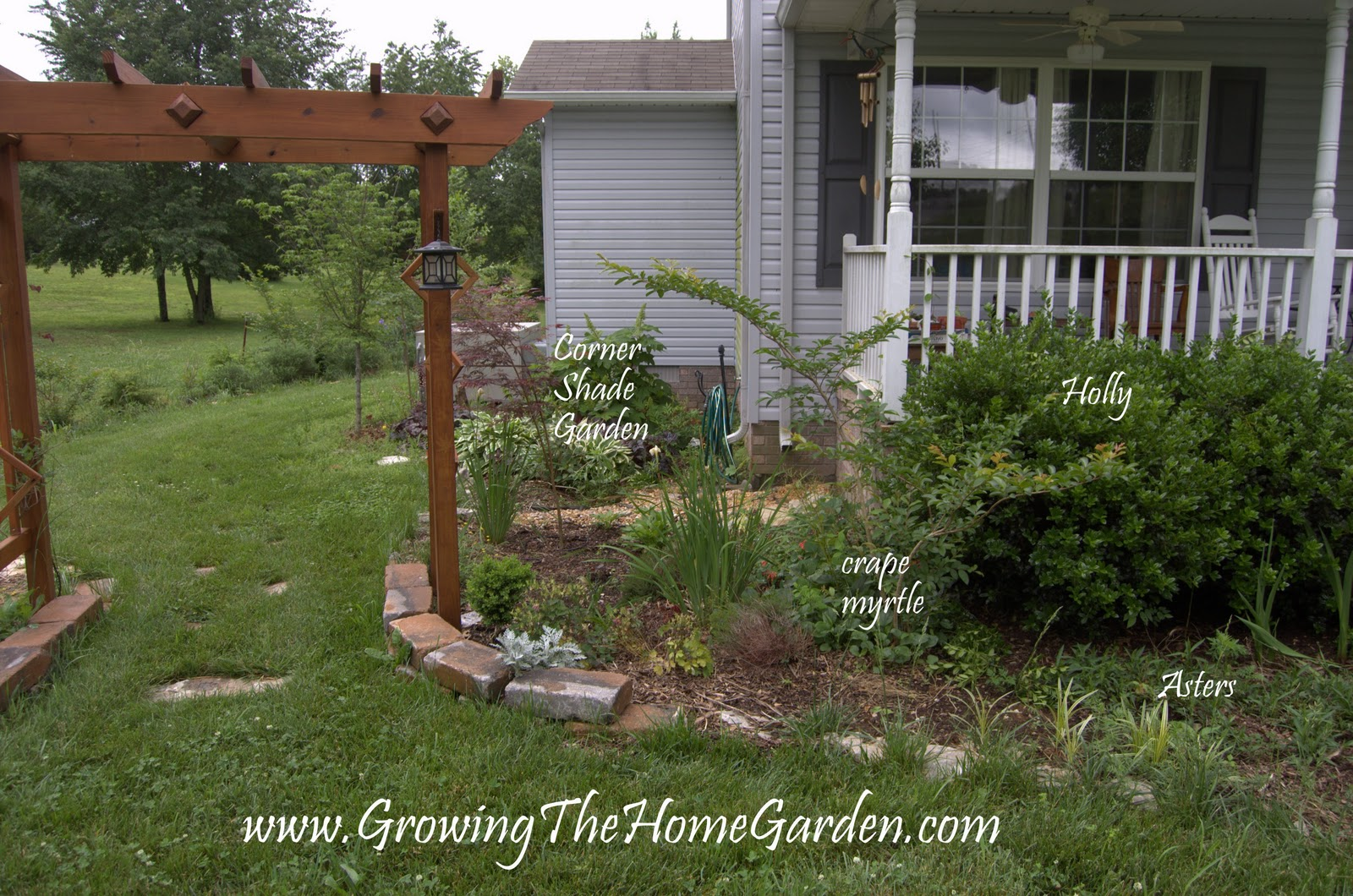 My front porch garden design project part 1 growing the for Design my front garden