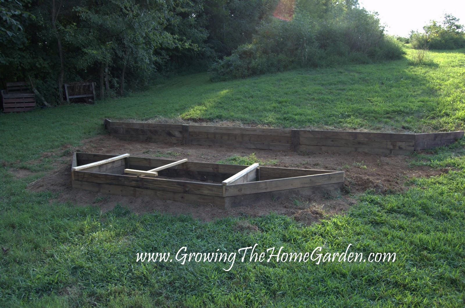 Another Raised Bed This Time on a Slope Growing The